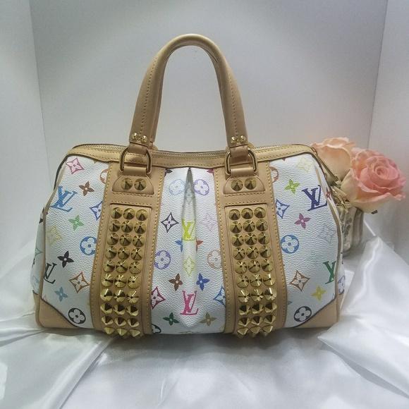 578aa4bdf4281 Louis Vuitton Handbags - RARE! Louis Vuitton Multicolor Courtney MM Handbag